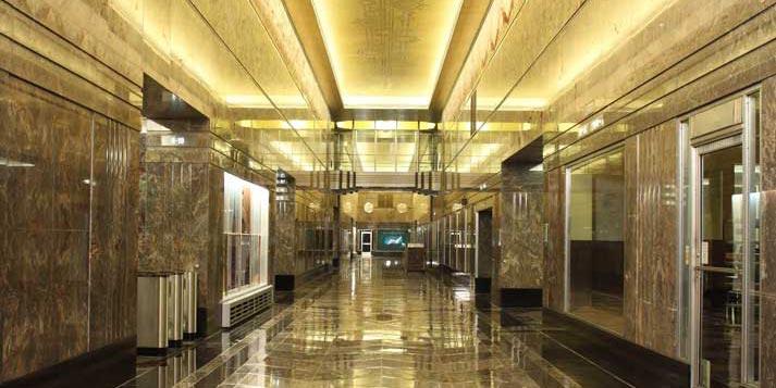 Empire State Building Lobby Restoration Stuart Lynn Company