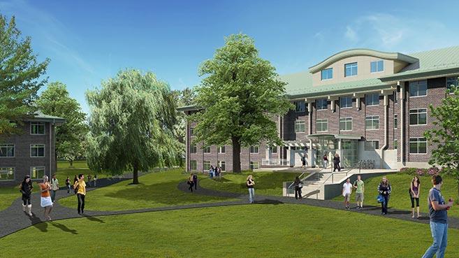 SUNY New Paltz Residence Hall